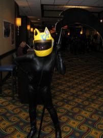 Celty Sturluson from Durarara!! worn by Bri-chii Cosplay