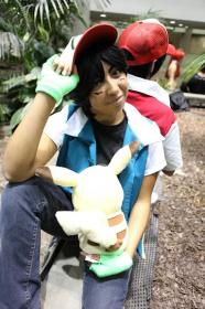 Ash Ketchum / Satoshi from Pokemon worn by Bri-chii Cosplay