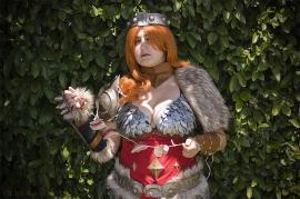 Barbarian from Diablo III worn by Blona