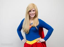Supergirl from DC Comics worn by Mousie