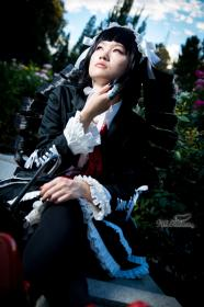 Celestia Ludenberg from Dangan Ronpa worn by qnng