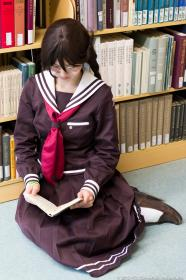 Touko Fukawa from Dangan Ronpa worn by qnng