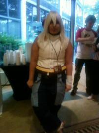 Riku from Kingdom Hearts 2 worn by ImBrooklynRage