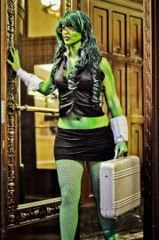 She Hulk from Marvel vs Capcom 3 worn by ECHO ENDLESS