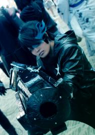 Black Rock Shooter from Black Rock Shooter worn by Yuuchul