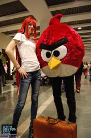 Angry Bird from Angry Birds