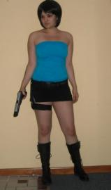 Jill Valentine from Resident Evil 3: Nemesis worn by Sara Croft