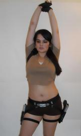 Lara Croft from Tomb Raider worn by Sara Croft