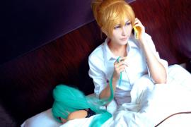 Kagamine Len from Vocaloid 2 worn by Lighting