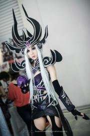 Syndra, the Dark Sovereign from League of Legends worn by Angelus