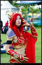 Alexstrasza from World of Warcraft worn by Angelus