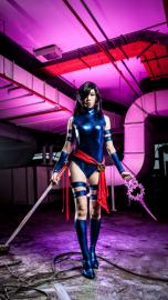 Psylocke from Marvel vs Capcom worn by Angelus