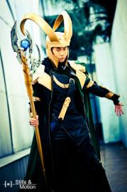 Loki from Marvel Comics worn by Angelus