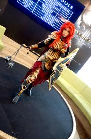Crusader  from Diablo III worn by Angelus