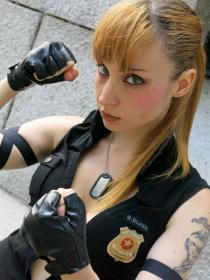 Sonya Blade from Mortal Kombat 2011