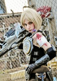 Anya Stroud from Gears of War worn by Zadra