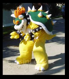 Bowser from Mario Bros worn by CassiniCloset