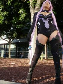 Purple Heart from Hyperdimension Neptunia worn by SushiMini