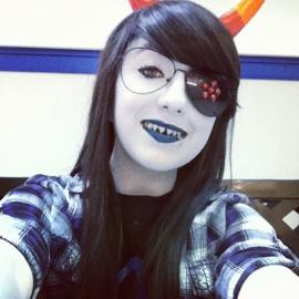 Vriska Serket from MS Paint Adventures / Homestuck