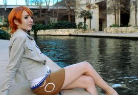 Nami from One Piece worn by Sloth Lord