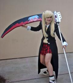 Maka Albarn from Soul Eater worn by Nana Knoxois