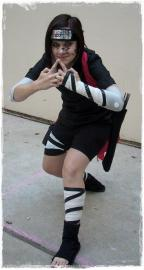 Sasuke Uchiha from Naruto worn by Nana Knoxois