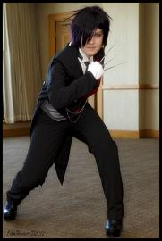 Sebastian Michaelis from Black Butler worn by Nana Knoxois