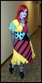 Sally from Nightmare Before Christmas worn by Nana Knoxois