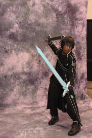 Kirito from Sword Art Online worn by ManaKnight