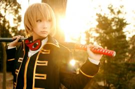Sougo Okita from Gintama worn by scarlettx