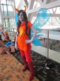 Vriska Serket from MS Paint Adventures / Homestuck worn by Skywalker