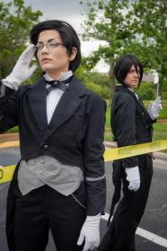 Claude Faustus from Black Butler worn by Lauren Hibs