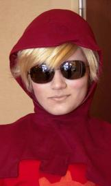 Dave Strider from MS Paint Adventures / Homestuck worn by Lauren Hibs