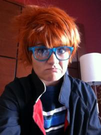 Irie Shouichi from Katekyo Hitman Reborn! worn by Lauren Hibs
