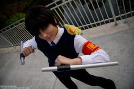 Kyouya Hibari from Katekyo Hitman Reborn! worn by Lauren Hibs