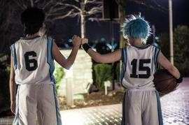 Aomine Daiki from Kuroko's Basketball worn by Lauren Hibs