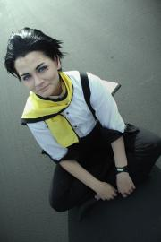 Ryoji Mochizuki from Persona 3 worn by Lauren Hibs