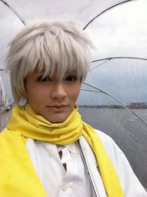 Clear from DRAMAtical Murder worn by Lauren Hibs