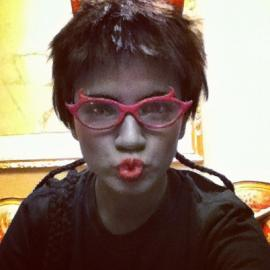 Meenah Peixes from MS Paint Adventures / Homestuck worn by Lauren Hibs