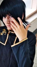 Lelouch Lamperouge from Code Geass worn by Lauren Hibs