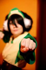Toph Bei Fong from Avatar: The Last Airbender worn by Rachel Flowers