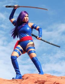 Psylocke from X-Men  by Caroline Cosplay