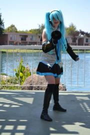 Hatsune Miku from Vocaloid worn by Kelp