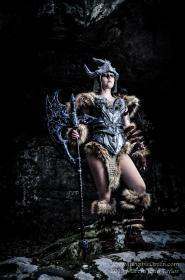 Dovahkiin/Dragonborn from Elder Scrolls V: Skyrim worn by LyddiDesign