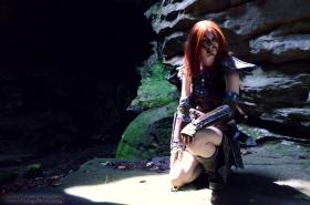 Aela the Huntress from Elder Scrolls V: Skyrim worn by LyddiDesign