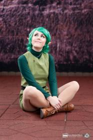 Saria from Legend of Zelda: Ocarina of Time worn by LyddiDesign