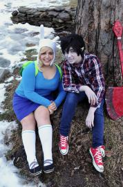 Marshall Lee from Adventure Time with Finn and Jake worn by Toni