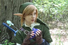 Link from Legend of Zelda worn by RetroElectric
