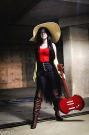 Marceline the Vampire Queen from Adventure Time with Finn and Jake worn by RetroElectric