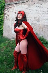 Scarlet Witch from Marvel Comics worn by GalaktikMermaid